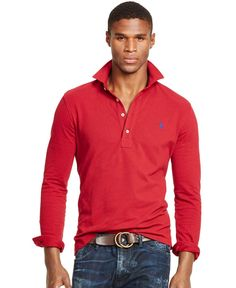 Polo Ralph Lauren Long-Sleeved Mesh Estate Shirt