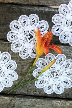18 White Lace Doilies  Vintage Wedding  Bohemian by Painting4him, $2.25