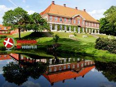 Hindsgavl Slot: il castello con affaccio sul fiordo