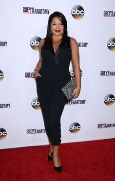 Sara Ramirez looking stunning in a Warehouse Jumpsuit, get the jumpsuit here: http://warehouse.andotherbrands.com/tuxedo-jumpsuit-en-US?ctry=US