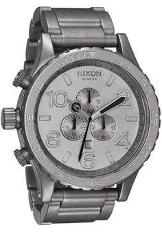 Nixon 51-30 Chrono All Raw Steel   Watches.com