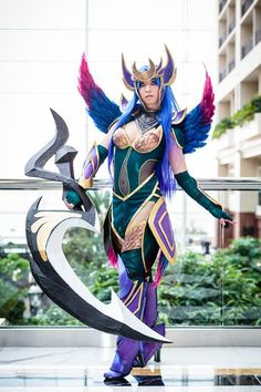 Best-of-Katsucon-2014-Vickybunnyangel-Cosplay-as-Dark-Valkyrie-Diana-League-of-Legends-photo-by-M1photo.  Photographer: Jeff M. Photography Cosplayer: Stella Chuu