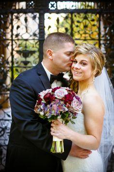Amanda & Anthony's {Wine Red & Gold} Elegant Fall Lawn Club Wedding Photographer: Candace Jeffery Photography
