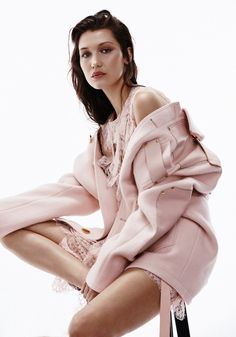 Bella Hadid photographed by Georges Antoni for Harper's Bazaar Australia…