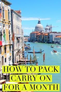 Travel Hacks & Tips :Tired of lost luggage? How to travel light with these best ever packing hacks. Carry On Essentials, Carry On Packing, Packing Tips For Vacation, Vacation Deals, Packing Hacks, Travel Deals, Travel Packing, Solo Travel, Vacation Trips