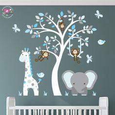 Kids Bedroom Wall Decals Gender Neutral Kids Wall Decals Modern - Nursery wall decals gender neutral