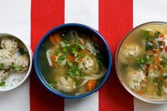 Dorie Greenspan's Ginger-Basil Turkey Meatball Soup - The Washington Post
