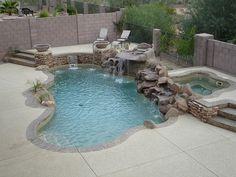 Swimming Pool Designs On Modern. Top Pools Looking Swimming Pool Backyard Pool Designs, Small Backyard Pools, Small Pools, Swimming Pools Backyard, Pool Spa, Pool Landscaping, Outdoor Pool, Lap Pools, Indoor Pools