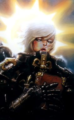 Sisters of battle from warhammer 40k by Lair Christopher