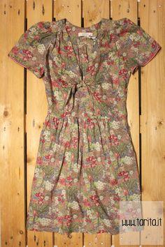 Sessùn. Flower printed cotton dress.