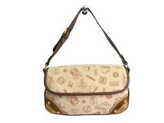 #LOEWE Hand Bag 160th Anniversary Ltd Canvas/Leather Beige/Brown (BF111256): All of #eLADY's items are inspected carefully by expert authenticators who have years of experience. For more pre-owned luxury brand items, visit http://global.elady.com