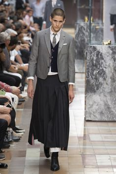 6824e503148 Thom Browne Spring 2018 Menswear Fashion Show Collection