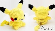 Pikachu Amigurumi Crochet Tutorial Part 1 - YouTube