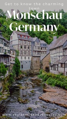 Our road trips through Germany in search of fairytale towns, takes us to Monschau, Germany. You can easily discover Monschau Germany in one day. Cities In Germany, Visit Germany, Germany Travel, Holidays Germany, Holidays France, Thailand Adventure, Thailand Travel, Vietnam Travel, Weather In France