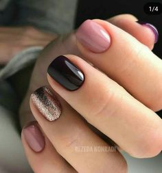 Beautiful Nail Art Style & Trends To Try In 2018 Everyday we sharing the different ideas of Gorgeous Nails. Today also we came with Fresh & Stunning Look of Nails Trends for this Modern year of If you want to increase the beauty of your… Shellac Nails, Manicures, Short Nail Manicure, Cute Acrylic Nails, Cute Nails, Pretty Nails, Hair And Nails, My Nails, Nails Today
