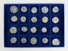 Lot 20 Roman coins United / 20 Roman Coins