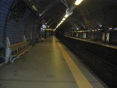 Subway station...