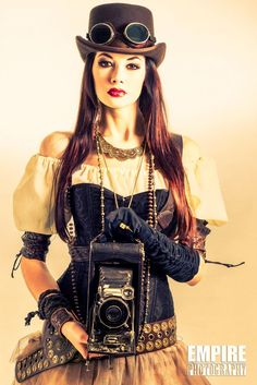 Steampunk, also referred to as Victorian science fiction, has exploded in appeal in the past few years. So if you are just seeking some quick ideas for a Halloween costume, I have created a few tips as well as tricks to get you began. Steampunk Cosplay, Chat Steampunk, Viktorianischer Steampunk, Design Steampunk, Steampunk Outfits, Steampunk Clothing, Steampunk Fashion, Steampunk Dress, Steampunk Theme