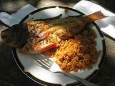 Coconut Fish Dominican Food