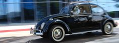 Huffington Post : This Electric Volkswagen Beetle is Perfect for the Modern Hippie : Roadtrippers ––––– When you think flower-power and peace signs, you also think of the 1960s VW Bug and Bus. Today, the new VWs seem more like the cars for Yuppies with puppies, and driving a Prius around just seems so boring. So what shall a lost-in-the-60s, socially conscious, earth-loving, free spirit drive these days? Zelectric Motors has just the option for you: an electric 1960s VW Beetle.