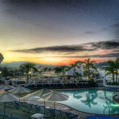 Sunrise in Carlsbad.