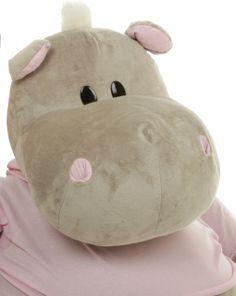 Kili Kubu 29 inch Oldest Daughter Of The Kubu Stuffed Hippo Pod, A Sweet Plush Hippo! $69.99 http://www.giantteddy.com