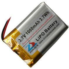 Купить товарШун 1000 мАч 3.7 В литий полимерная батарея 423548 50 x 35 x 4.5 мм MP3 чтения машины в категории Аккумуляторы для MP3/MP4 плеерана AliExpress.         1000 мАч 3.7 В литий-полимерный аккумулятор с защитой плате безопаснее           Модель: LP423548   Размеры прод