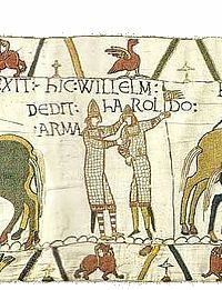 Bayeuxtapestryscene21 Jpg Bayeux Tapestry Tapestry Medieval Embroidery
