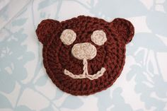Alli Crafts: Free Pattern: Bear Boo-Boo Buddy Ice Pack Cover