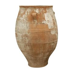 Greek Terracotta Oil Jar with Handles