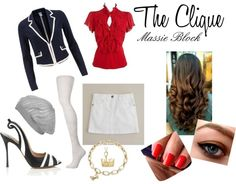 """The Clique Massie Block"" by shoppingandsoccer on Polyvore"