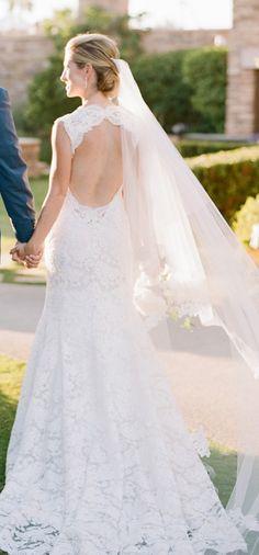 wedding dress idea; featured photographer: Sylvie Gil