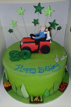 Mower Cake