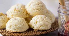 Gluten-free biscuits: just mix, scoop, drop, and bake.