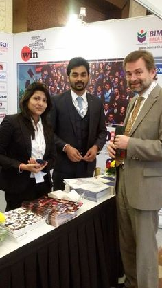 Mr. Thomas Hinterseer of Cedep, France visited BIMTECH Stall during the event.