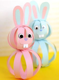 Need ideas for new Easter crafts for the kids, but don't have any inspirations? We have the solution – try these amazingly cute and fun ideas for the best Easter . Read moreBest Easter Crafts For Kids Easy Easter Crafts, Bunny Crafts, Paper Crafts For Kids, Crafts For Kids To Make, Crafts For Teens, Adult Crafts, Paper Easter Crafts, Diy Paper, Paper Bunny