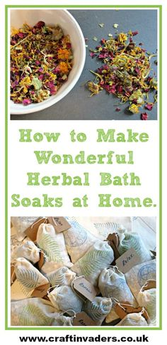 How to Make Wonderful Herbal Bath Soaks at Home These wonderful herbal bath soaks are great fun to make, fabulous for your health and well-being and can be tailored to suit the recipient. Leaky Gut, Bath Recipes, Soap Recipes, Nails Polish, Bath Tea, Bath Soaks, Homemade Beauty Products, Natural Products, Home Made Soap