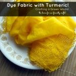 DIY Turmeric Dye for Fabric (+ washing instructions!)
