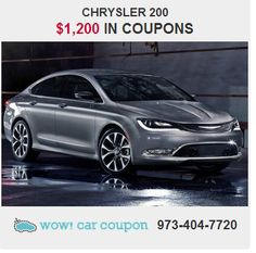 #GreatSavings using our coupons!! Take a look at this 2014 #Chrysler200  with $1,200 in #couponsavings!!!  Call us or go to our website for more #savings: www.wowcarcoupon.com  #wowcarcoupon