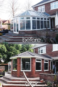 Beautiful Before and Afters; Installations of Supalite Roofing: A Fantastic Ligh. - Callum Derbyshire - Beyond Binary Tiled Conservatory Roof, Conservatory Lighting, Conservatory Interiors, Conservatory Dining Room, Conservatory Ideas, Conservatory Extension, Victorian Skylights, Roofing Options, House Extensions