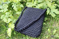 Calu Art: Torebka ze sznurka 9mm Crocheting, Crochet, Knits, Lace Knitting, Quilts, Chrochet, Knitting Stitches, Knitting Projects, Ganchillo