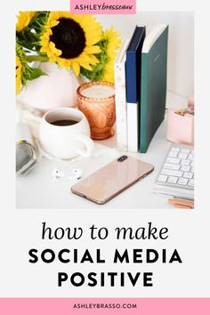 How To Make Social Media Positive | Mindful Living - Have you experienced a social media struggle and are finding it a place where people compare themselves, feel less than, escape reality, and contributes to poor mental health and social skills? I've got 5 ways to help you make the social media scroll a positive experience. Ashley Brasseaux | Intentional Living | Social Media Detox | Mindfulness #healthyliving #socialmedia #Mindfulness #Intentionalliving Social Media Marketing Business, Social Media Trends, Online Business, Business Tips, Social Media Detox, Entrepreneur Motivation, Mindful Living, Social Skills, 5 Ways