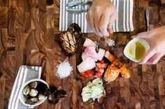 LOCALE Magazine Feature: Colette's Catering & Events 'Meals Deconstructed'  | Cioppino Article -Mise En Place