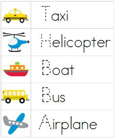 transportation preschool theme - Google Search