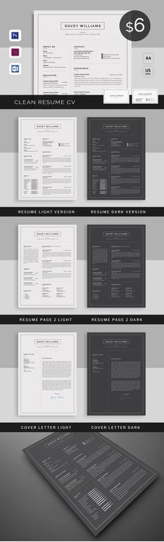 Infographic Resume \/ Cv Template INDD, PSD Infographics Elements - resume template indesign