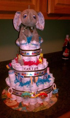 Jungle Animals diaper cake i am making thos for my neice on saturday different theme tho