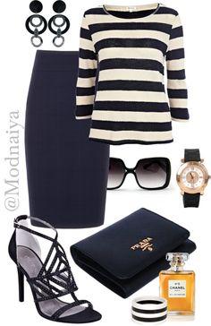 """""""#Stylish marine style!"""" by modnaiya on Polyvore"""