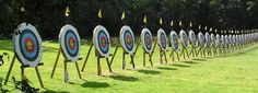Archery games and challenges