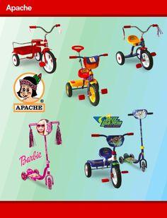 WhatYou.com - Compra, Vende, Recomienda y Gana.  Whatyou.com/bicicletas  Triciclos Apache