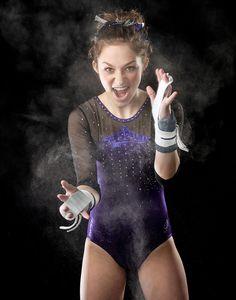 nfocus photos senior photos in Cary, IL with a Gymnast Gymnastics Senior Pictures, Gymnastics Chalk, Gymnastics Clubs, Gymnastics Poses, Gymnastics Photography, Gymnastics Girls, Chalk Pictures, Poses For Pictures, Picture Poses